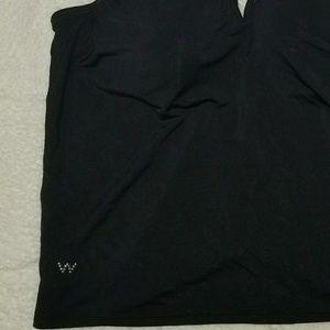 Wonderbra Intimates & Sleepwear - {Wonderbra} black bra cami, embellished straps, M